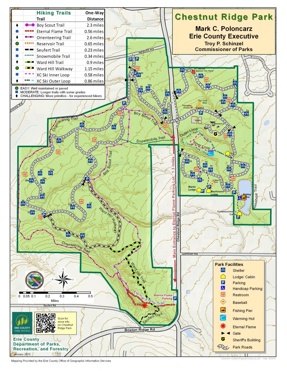 Orchard Park New York Map.Maps Chestnut Ridge Conservancy