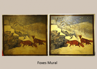 Foxes Mural
