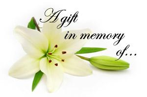 Memorial Donations - Chestnut Ridge Conservancy